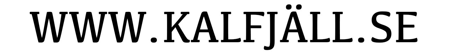 www.Kalfjäll.se